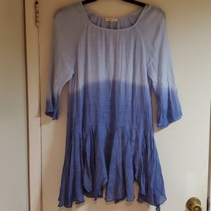 Indigo Soul blue ombre tunic dress